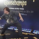 No Brasil, Jack Black promove Goosebumps e lembra de Escola do Rock