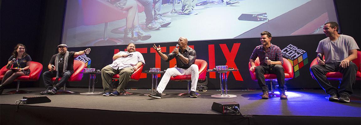 CCXP 2015: Netflix lança The Ridiculous 6 com Adam Sandler e Terry Crews