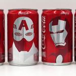 Coca-Cola lançará latinhas com os personagens da Marvel