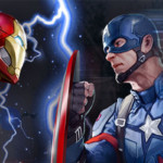Capitão América: Guerra Civil invade os principais games da Marvel