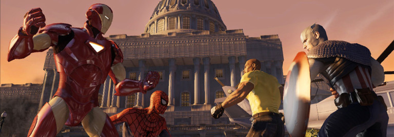 Marvel Ultimate Alliance 2: A Guerra Civil nos videogames