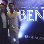 Jack Huston e Rodrigo Santoro falam sobre como foi recriar Ben-Hur