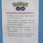 Parque do Ibirapuera tem aviso para os jogadores de Pokémon GO