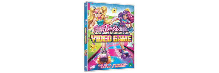 Barbie invade o mundo dos games em seu novo filme