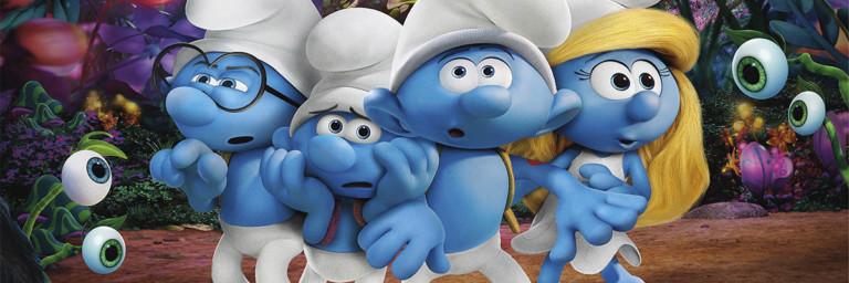 Totalmente animado, Os Smurfs e A Vila Perdida merece nota azul