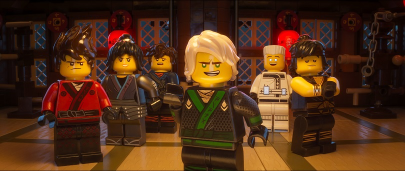 Lego Ninjago O Filme Monta Divertida Aventura Familiar No Cinema
