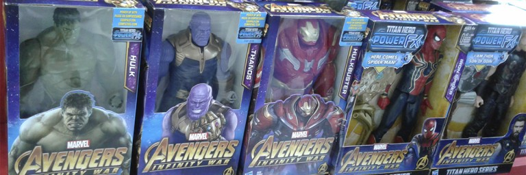 Abrin 2018: Toys de Vingadores: Guerra Infinita são destaque da Hasbro