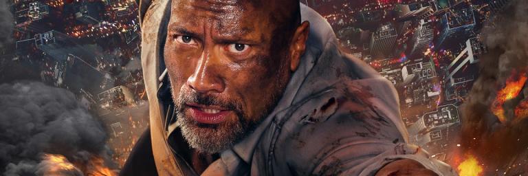 """The Rock é """"duro de matar"""" em Arranha-Céu: Coragem Sem Limite"""