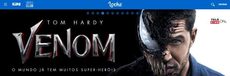 Looke: Streaming brasileiro oferece filmes de heróis e animes clássicos