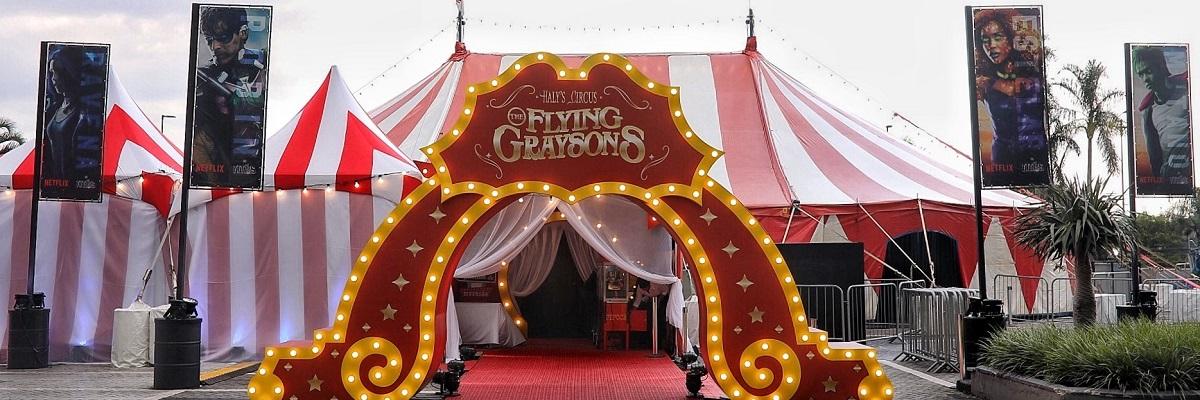Em ação da Netflix, circo Titãs Experience chega a São Paulo