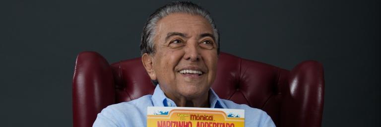 Mauricio de Sousa conta sua história em Bios. Vidas que Marcaram a Sua