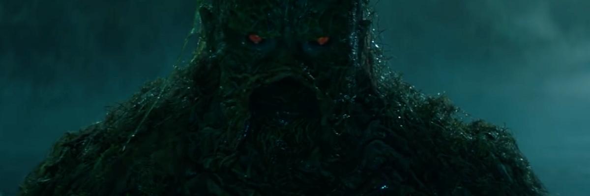 Primeiro teaser revela visual do Monstro do Pântano