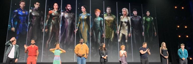 Marvel revela estreia de Pantera Negra 2 e Kit Harrington em Os Eternos