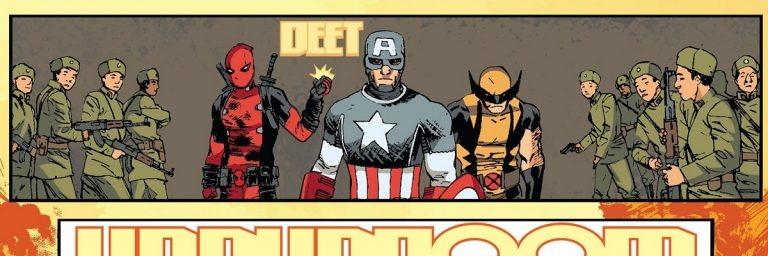 Três Homens em Conflito: HQ do Deadpool acerta com medalhões da Marvel