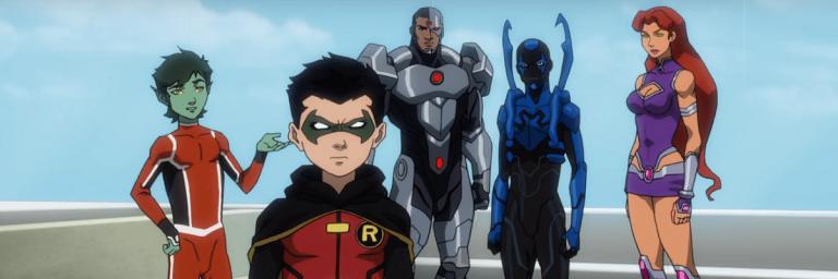 A Liga da Justiça e os Jovens Titãs expande universo animado da DC
