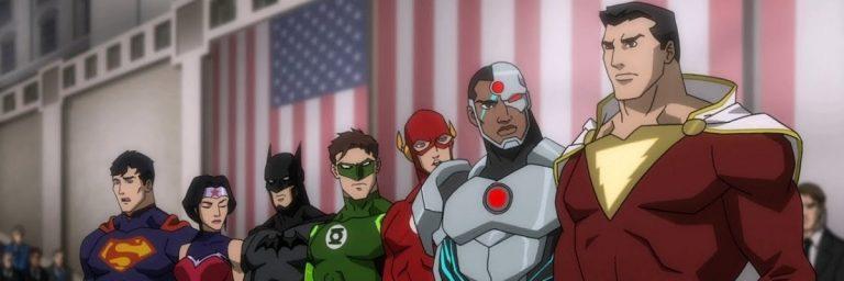 Liga da Justiça: Guerra marca debute da nova equipe em animação