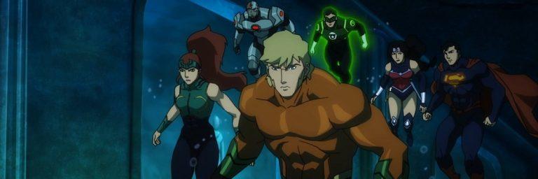 Liga da Justiça: Trono de Atlântida traz origem de Aquaman
