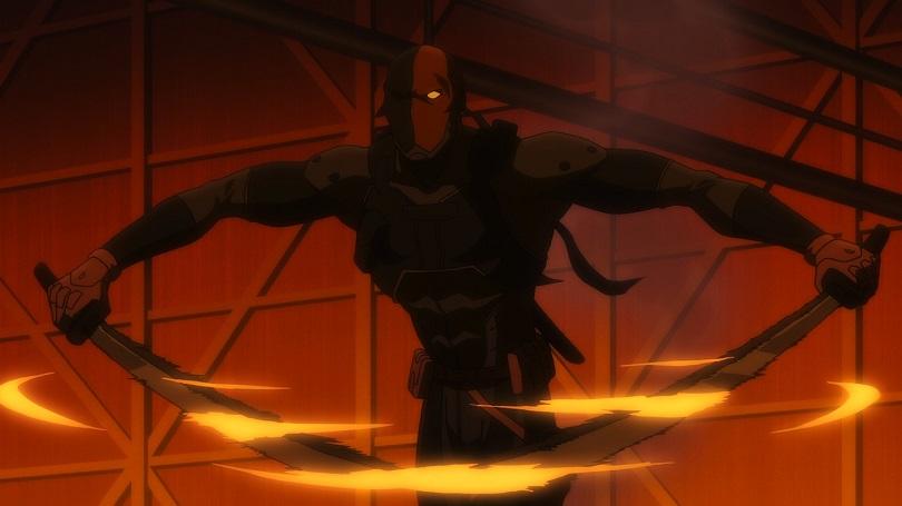Exterminado puxa suas espadas em cena de luta