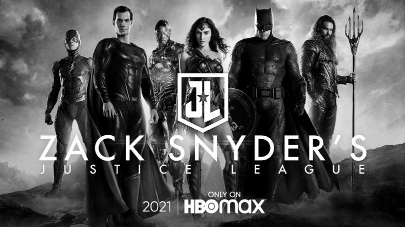 Imagem de anúncio de Liga da Justiça SnyderCut pelo HBO Max