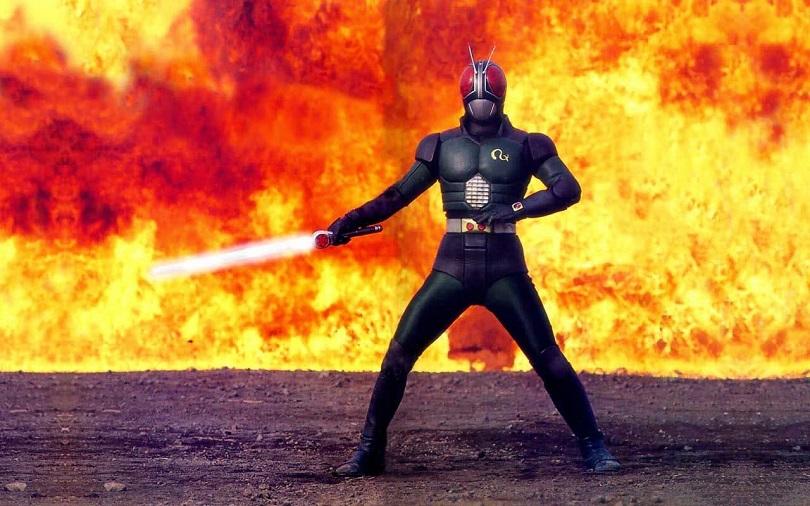 Cena de Black Kamen Rider RX