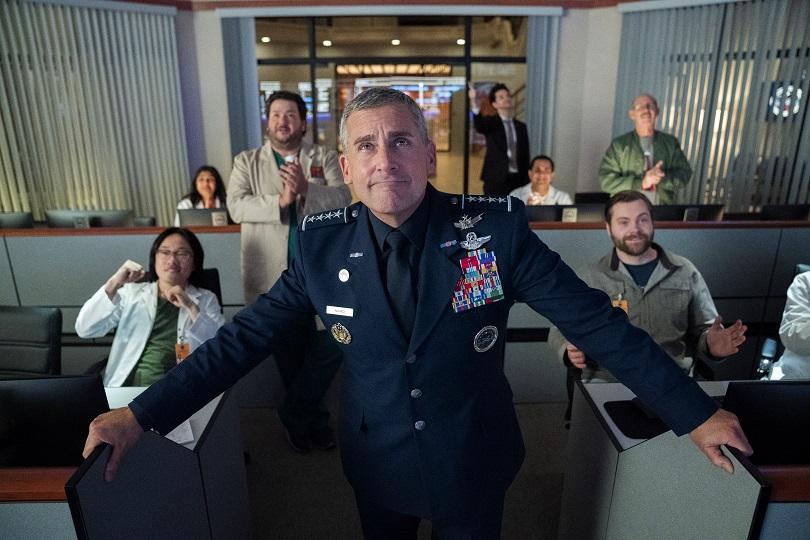 Steve Carell na nova série da Netflix, Space Force
