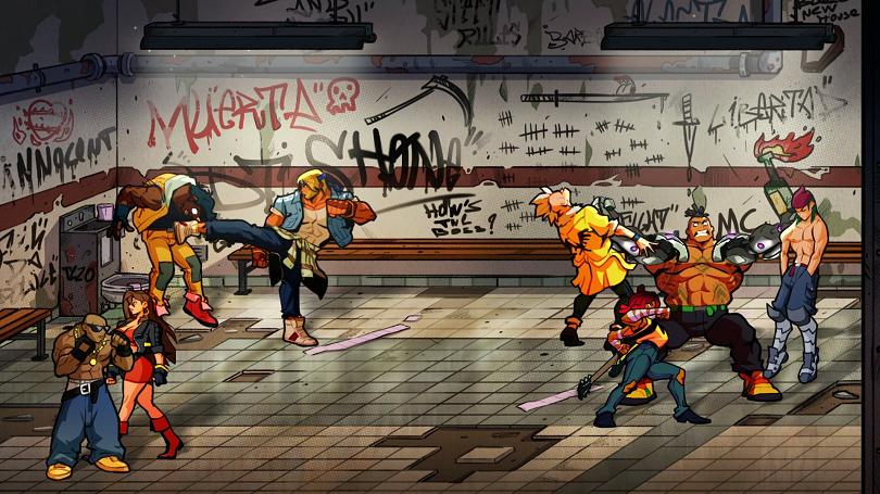 Tela de Streets of Rage 4