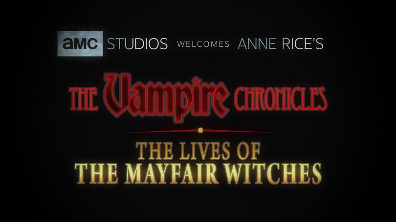 Imagem promocional do AMC sobre adaptações de Anne Rice