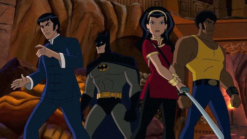 Primeira imagem de Batman: Soul of the Dragon