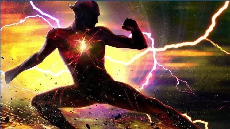 Arte conceitual de The Flash
