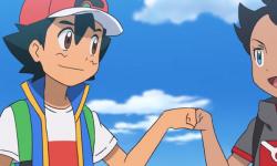 Ash e Goh em Jornadas Pokémon
