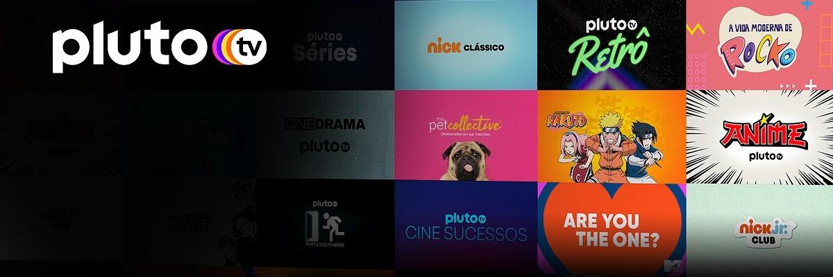 Naruto e Bleach são destaques da programação do Pluto TV