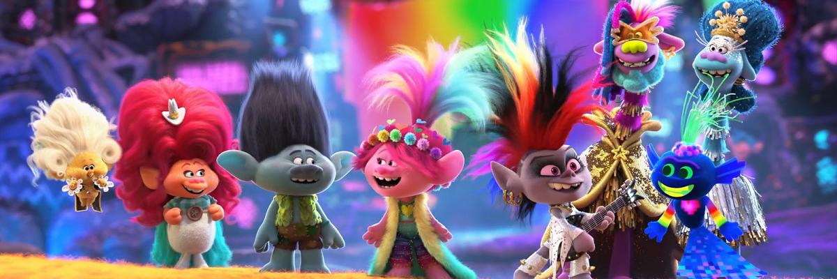 Trolls 2 apresenta trilha sonora diversificada e críticas a bolhas sociais