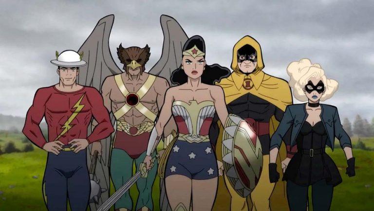 Conheça o elenco de dublagem de Justice Society: World War II