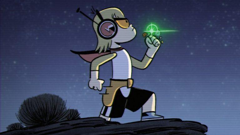 Em 2D, Kid Cosmic diverte com desconstrução da jornada do herói