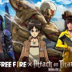 Free Fire: evento de Attack on Titan já está disponível