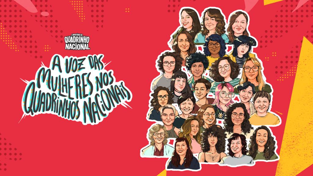Social Comics lança documentário sobre voz das mulheres nas HQs nacionais