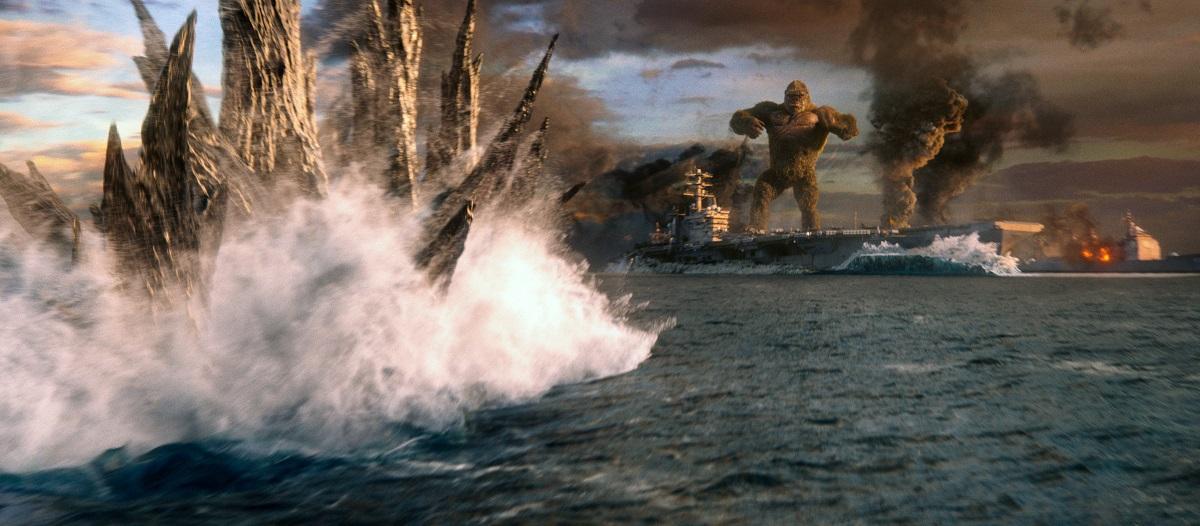 Godzilla vs. Kong entrega confronto titânico e sem surpresas