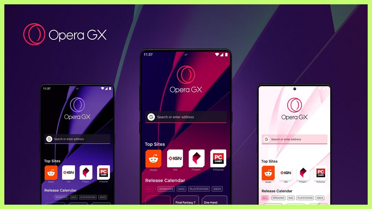 Opera GX: navegador mobile para gamers é lançado na E3 2021