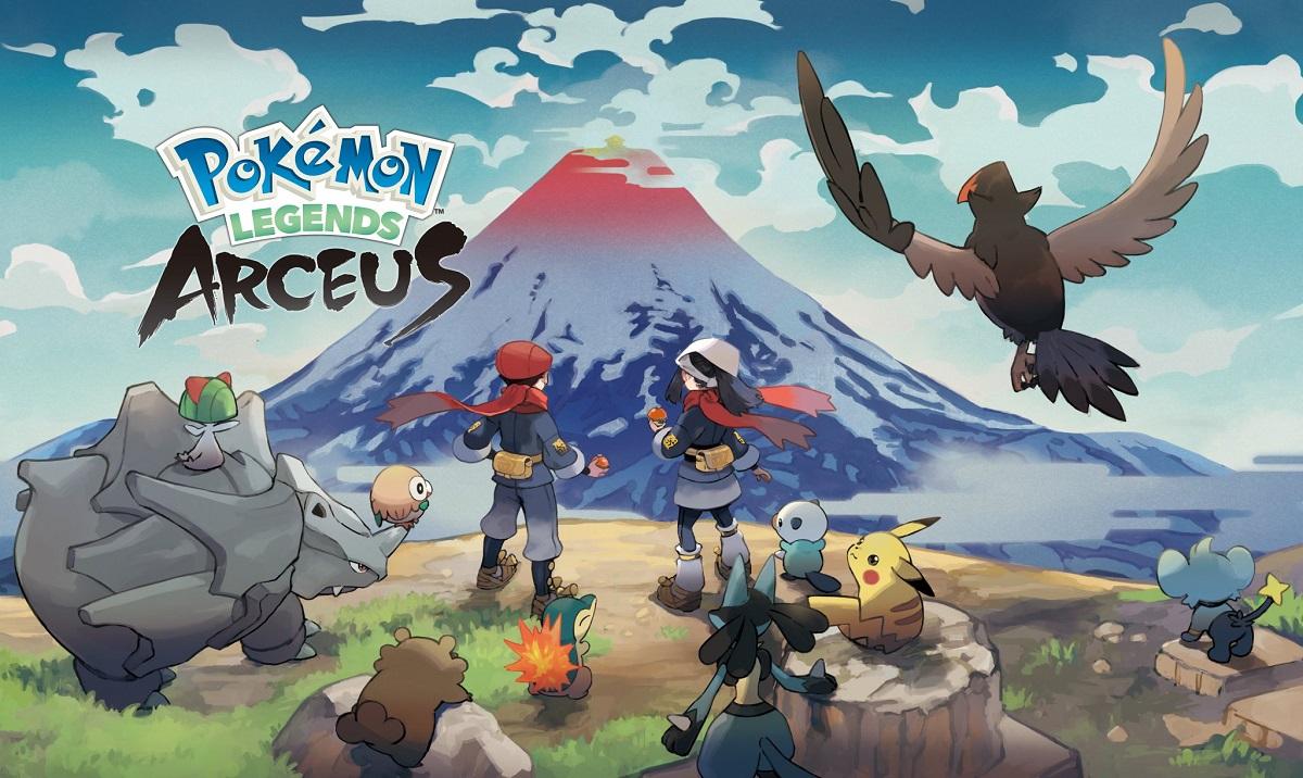 Pokémon Legends: Arceus tem data de lançamento confirmada