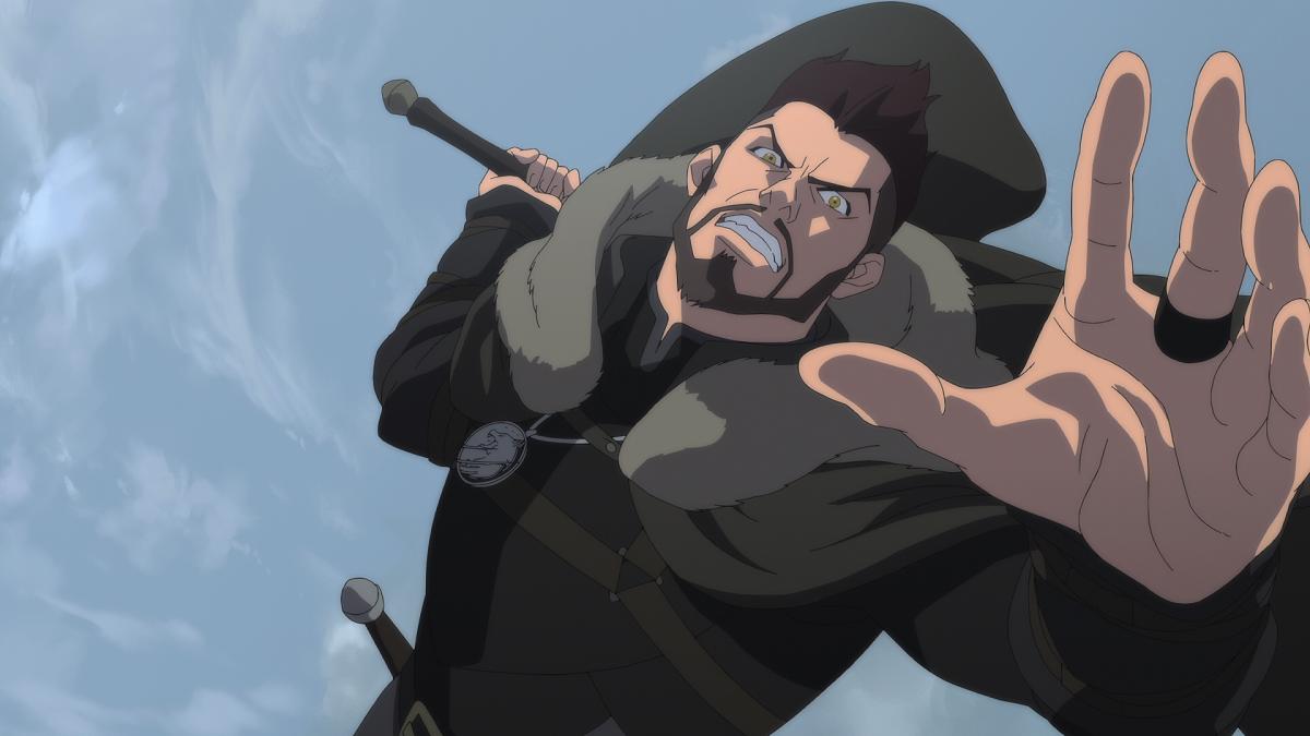 The Witcher: Lenda do Lobo vai bem com estreia de Vesemir